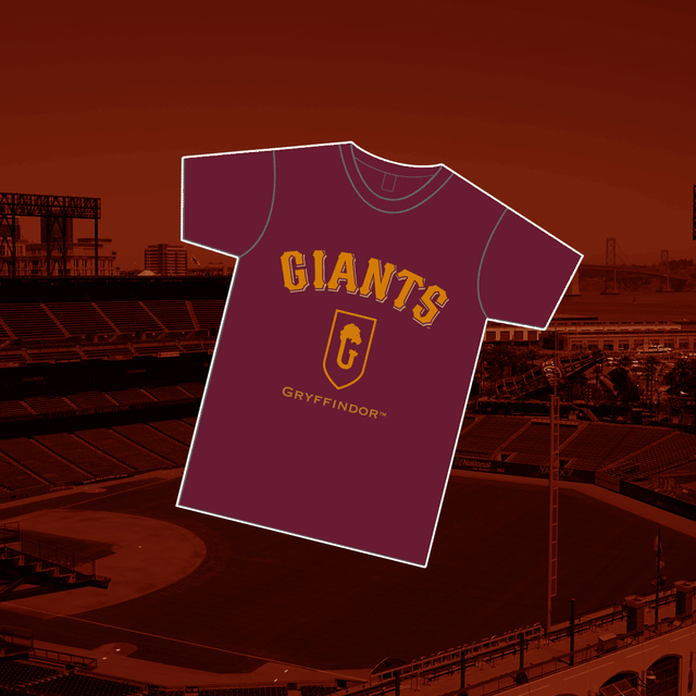 """The San Francisco Giants' """"Harry Potter and the Cursed Child"""" Night will feature House-themed T-shirts."""