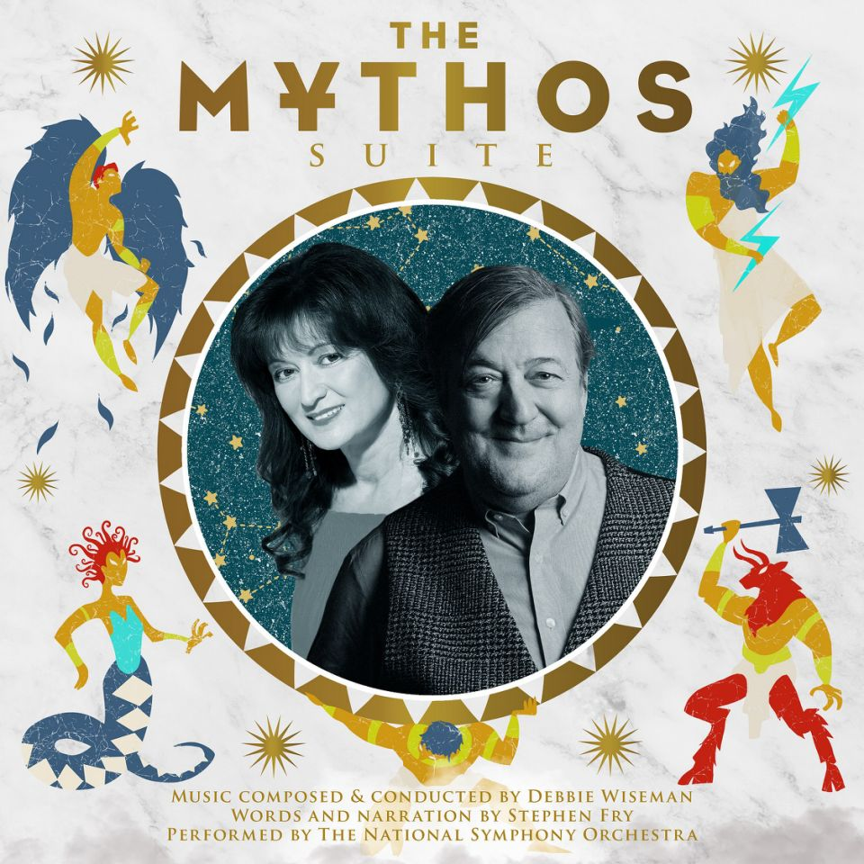 "Stephen Fry will recite from his book on ""The Mythos Suite""."