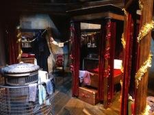 Gryffindor dormitory at WB Studio Tour, 2012