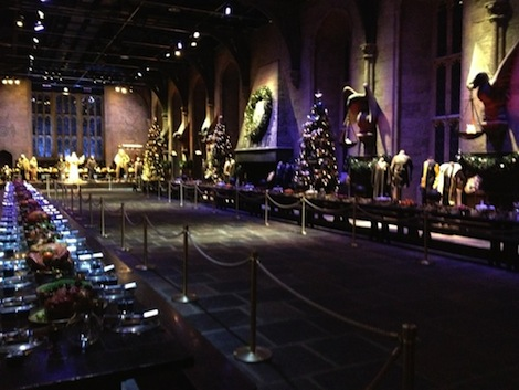 Great Hall at WB Studio Tour, 2012