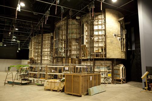 WB Studio Tour under construction, 2011