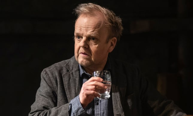 "Toby Jones performs a scene from ""Uncle Vanya""."