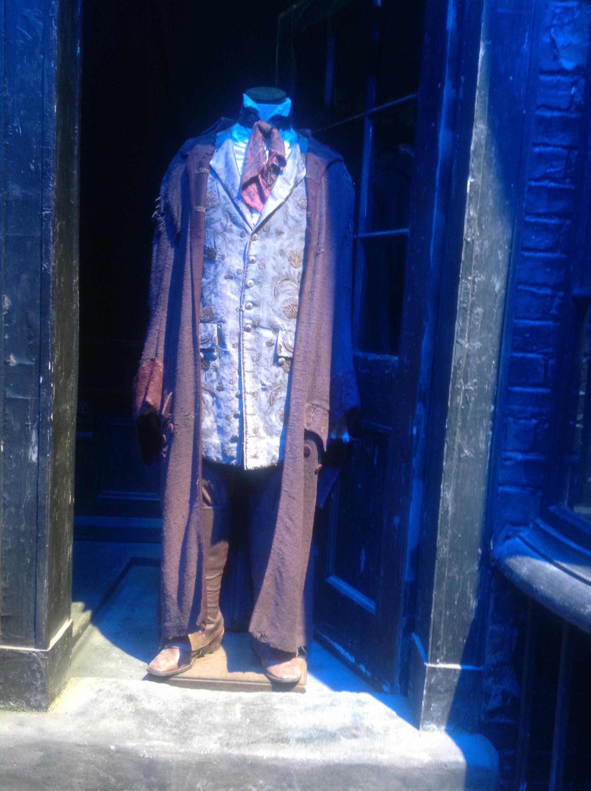 Ollivander's robes at WB Studio Tour during Wand Week, 2013