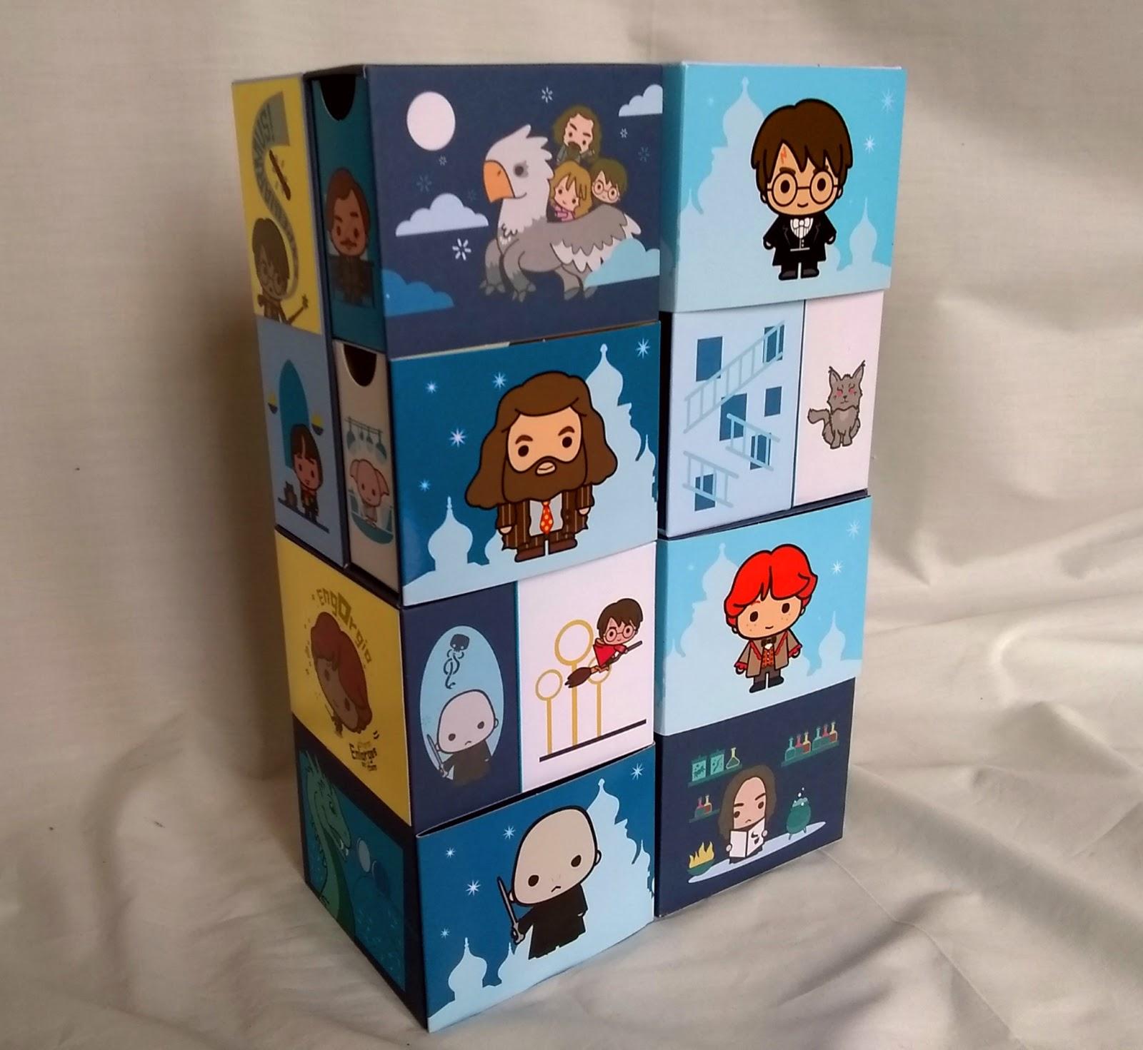 YuMe Toys Infinity Box – Hagrid, Yule Ball, Sirius, Quidditch