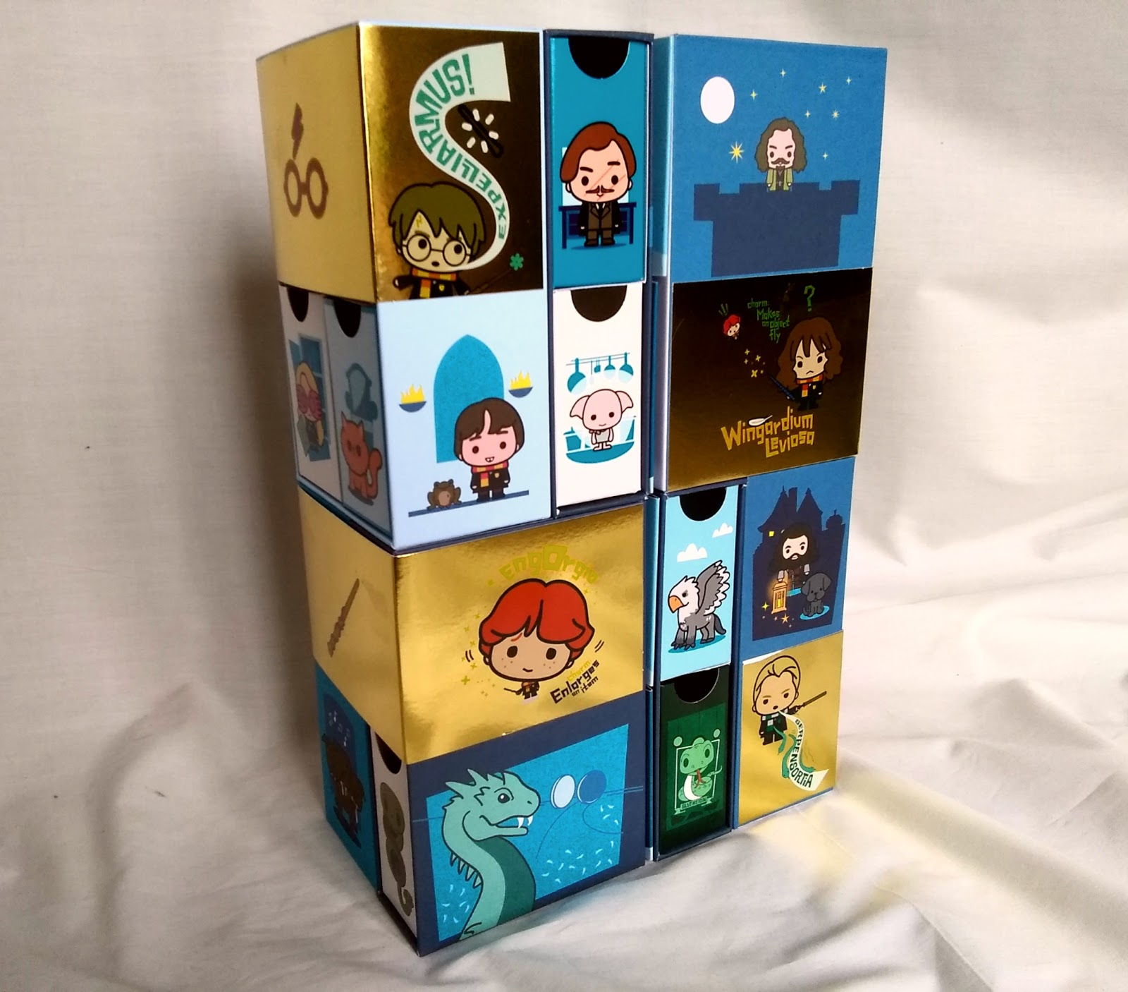 YuMe Toys Infinity Box – Harry, Lupin, Sirius, Neville