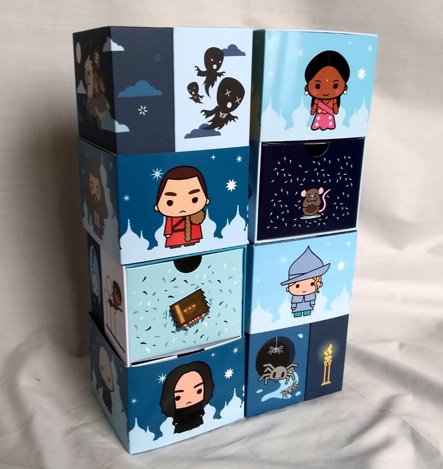 YuMe Toys Infinity Box – Krum, Dementors, Scabbers, Monster Book of Monsters