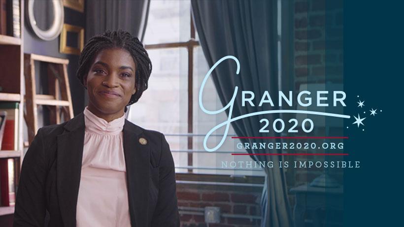 Hermione Granger's 2020 campaign poster