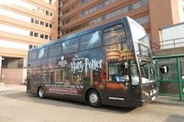 WB Studio Tour shuttle bus, 2012