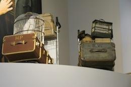 Hogwarts luggage at WB Studio Tour, 2012