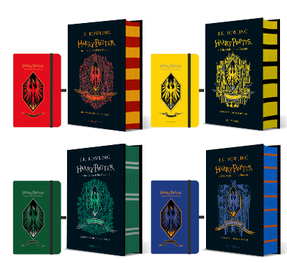 image of house editions of order of the phoenix with special offer matching notebook