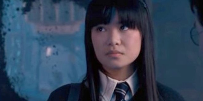 Cho Chang looking at Cedric's photo in the Room of Requirement