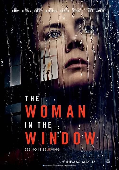 "Pictured is a new movie poster for ""The Woman in the Window""."