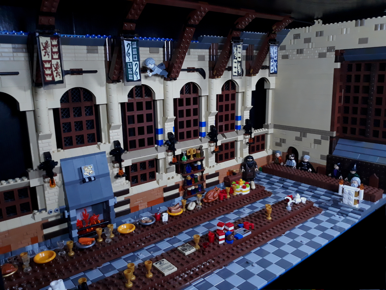Great Hall Build as of 3-27