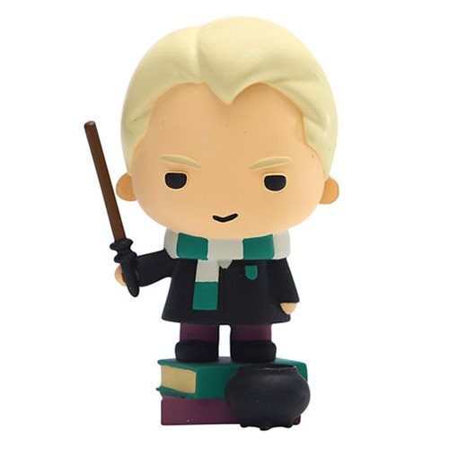 Draco Malfoy looks ready to go tell his father about something in this Enesco Charms Style Statue.