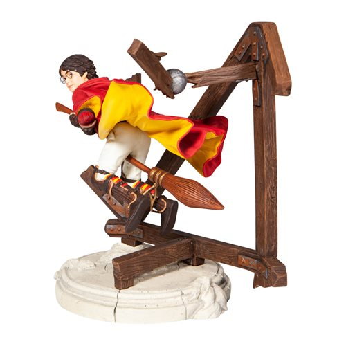 Harry Potter can now be perpetually plagued by the rogue Bludger on your mantel, thanks to this statue by Enesco.