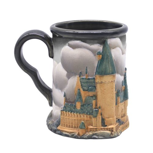 It's a cloudy day with a chance of Dementors at Hogwarts, but you'll be ready to tackle anything after a coffee in this Hogwarts Castle Mug from Enesco.