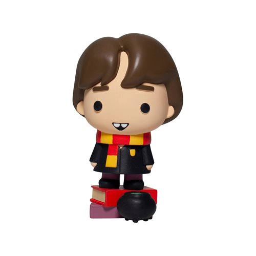 There isn't a Neville Longbottom figurine in existence that doesn't have a very cute dental issue, and this Enesco Charms Style Statue is no exception.