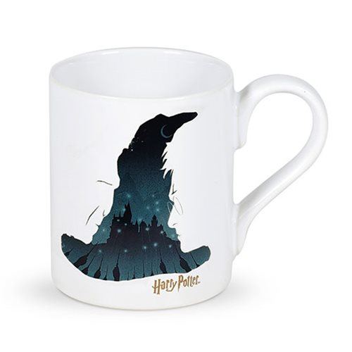 The ultimate battle of good versus evil is approaching on this Enesco Sorting Hat Mug, and you'll be there to fight just as soon as you've had some caffeine.