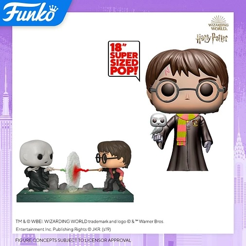"The latest ""Harry Potter"" Funko Pop! will be an 18-inch vinyl figure of the boy wizard."