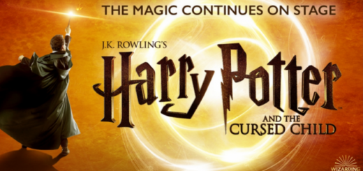 "A promotional banner for ""Harry Potter and the Cursed Child"" Canada is sized as a featured image."