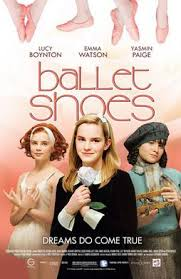 Emma Watson acting in the movie Ballet Shoes