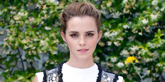 Emma Watson is pictured.