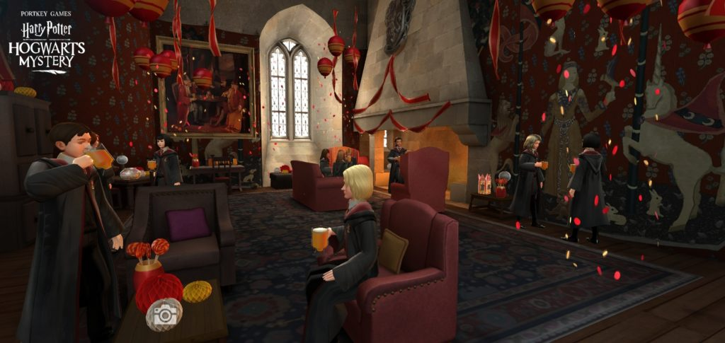 """Harry Potter: Hogwarts Mystery"" celebrated its second anniversary with festive parties in the House common rooms."