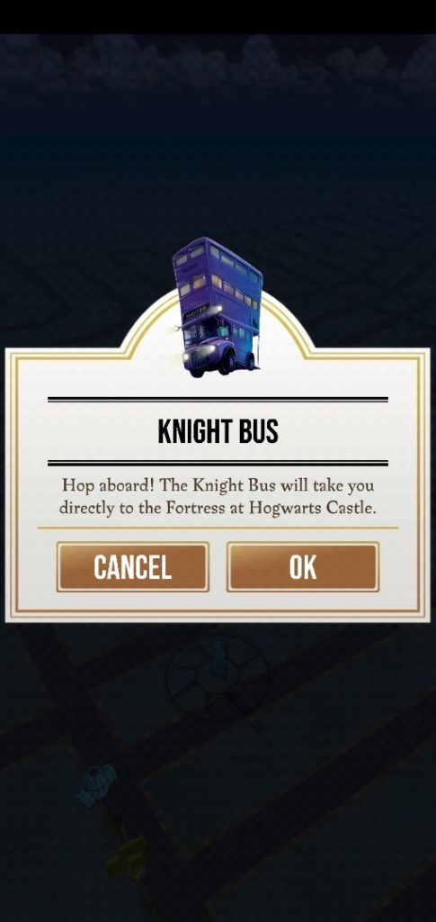 "The Knight Bus has arrived in ""Wizards Unite""."