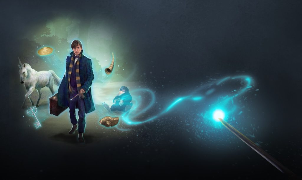 "Newt Scamander is featured in a new Nature and Nifflers mini-event in ""Wizards Unite""."