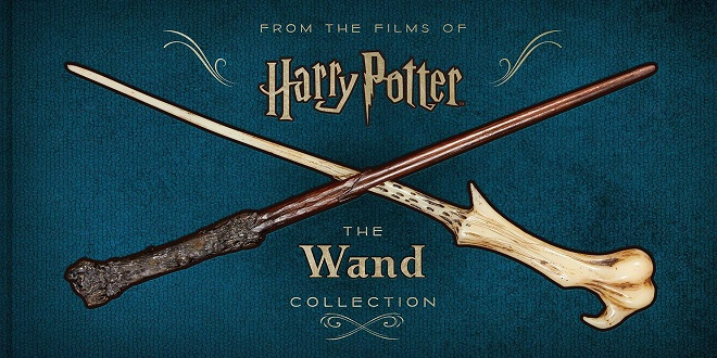 """Cover image of """"Harry Potter: The Wand Collection"""""""