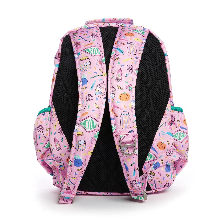 JuJuBe Honeydukes backpack, back view