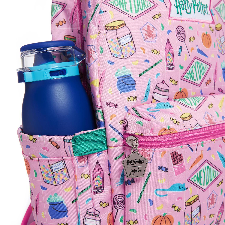 JuJuBe Honeydukes backpack, side pocket