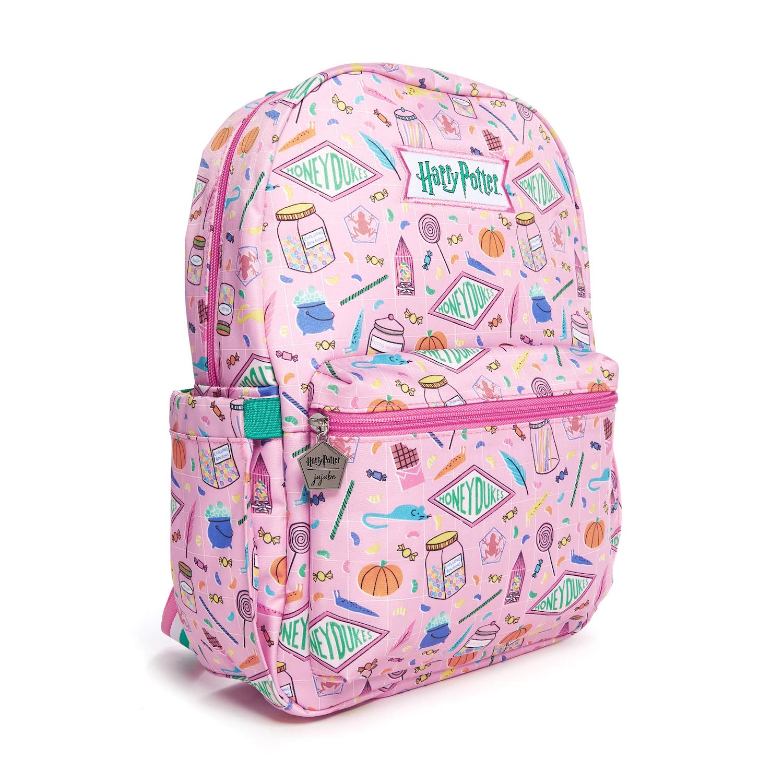 JuJuBe Honeydukes backpack, side view