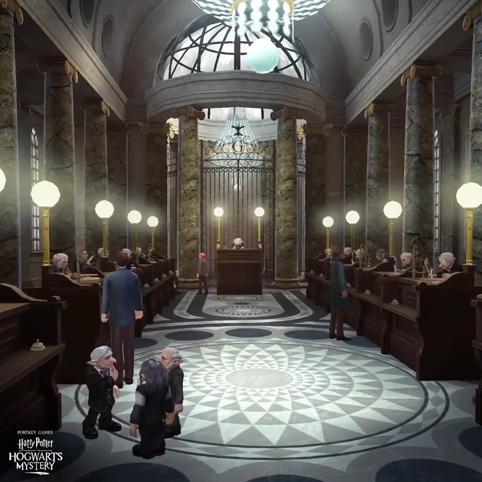 """Harry Potter: Hogwarts Mystery"" is preparing to take us inside Gringotts Wizarding Bank."