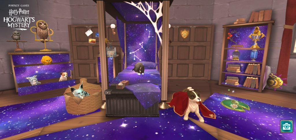 "Your character now has a chance to sleep among the stars in ""Harry Potter: Hogwarts Mystery""."