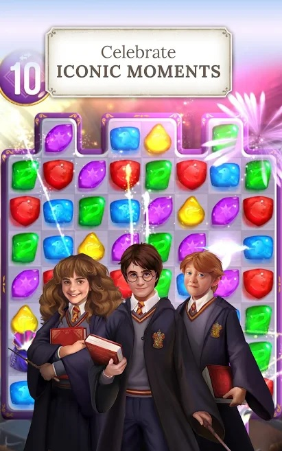 "The golden trio pops in for a visit in ""Harry Potter: Puzzles & Spells""."
