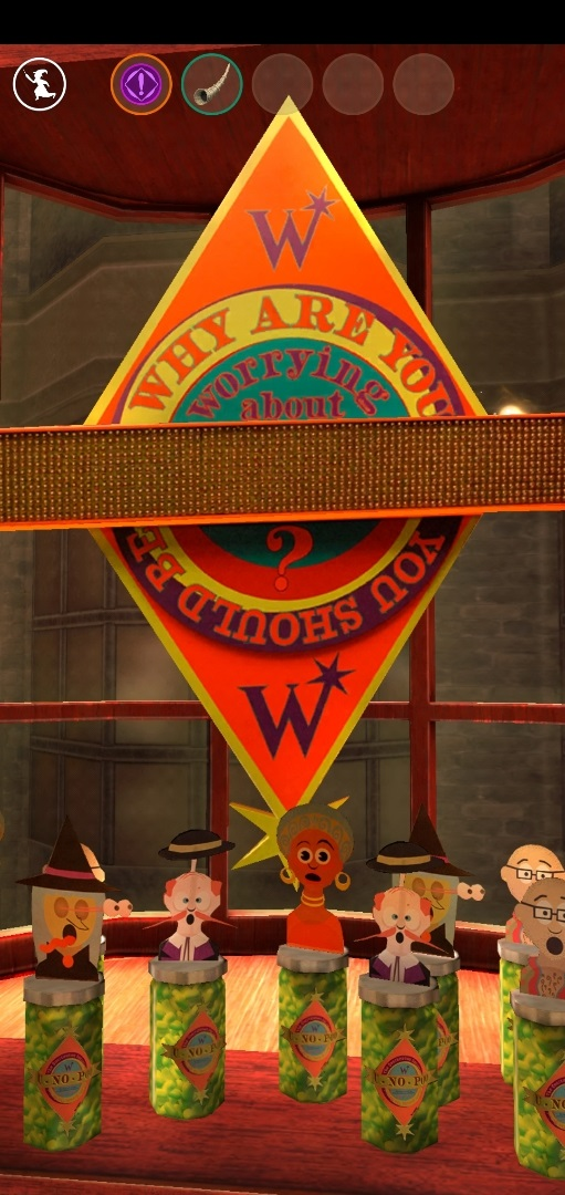 "Weasleys' Wizard Wheezes is open for business in ""Harry Potter: Wizards Unite""."
