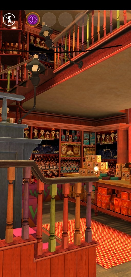 """Harry Potter: Wizards Unite"" has done an excellent job re-creating the interior of Weasleys' Wizard Wheezes."