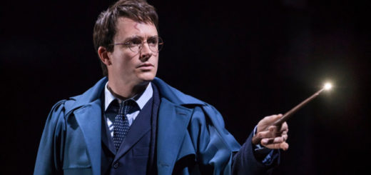 "Actor James Snyder appears in character as Harry Potter in ""Harry Potter and the Cursed Child"" on Broadway."