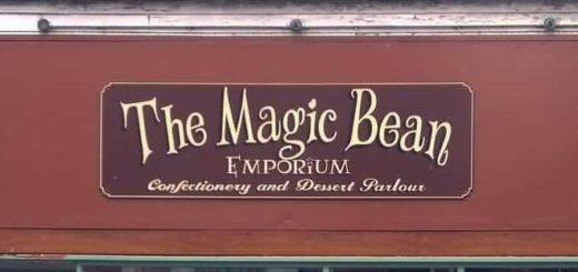 The Magic Bean Emporium official sign