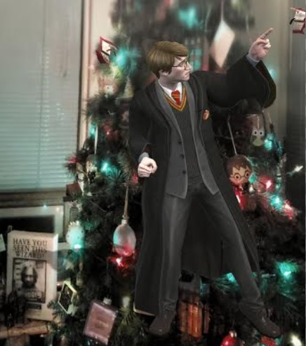"""Young James Potter fights off a pair of Howlers in """"Harry Potter: Wizards Unite""""."""