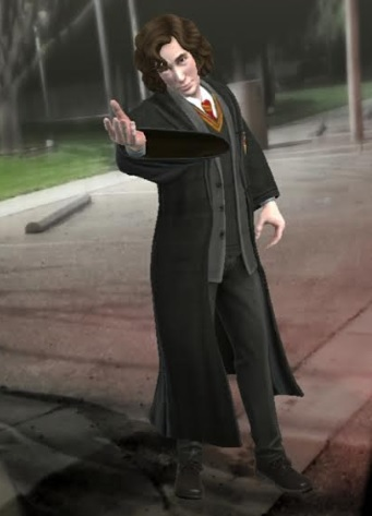 "Young Sirius Black thanks you for your assistance in ""Harry Potter: Wizards Unite""."