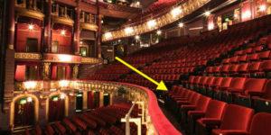 Circle Seating at the Palace Theatre London