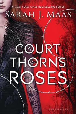 """Cover image of """"A Court of Thorns and Roses"""""""