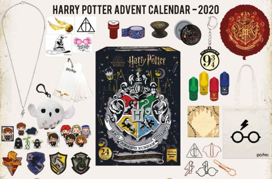 The Christmas in the Wizarding World 2020 Advent Calendar Preorder from Merchoid is pictured.