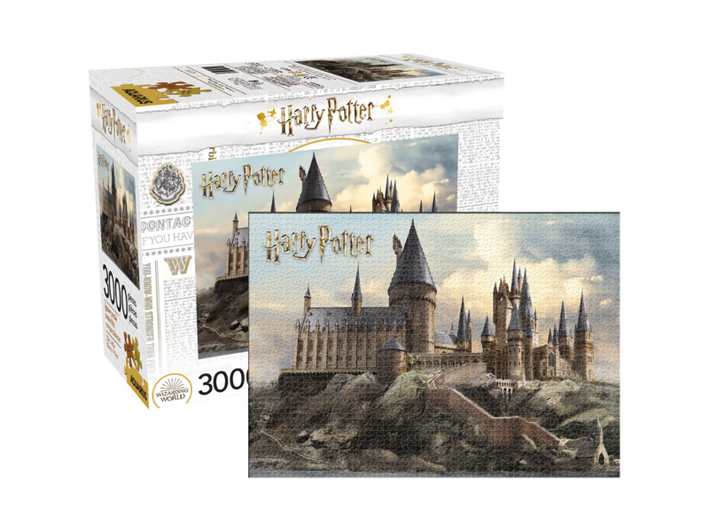 The Harry Potter Hogwarts 3,000-Piece Puzzle, available from Entertainment Earth, is pictured.