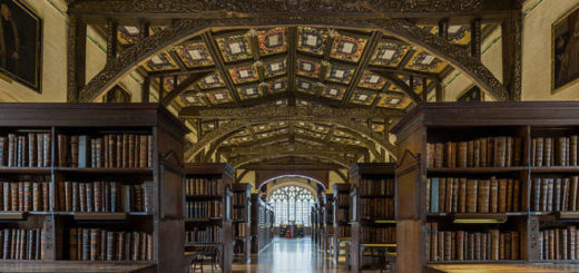 Picture of the Oxford Library