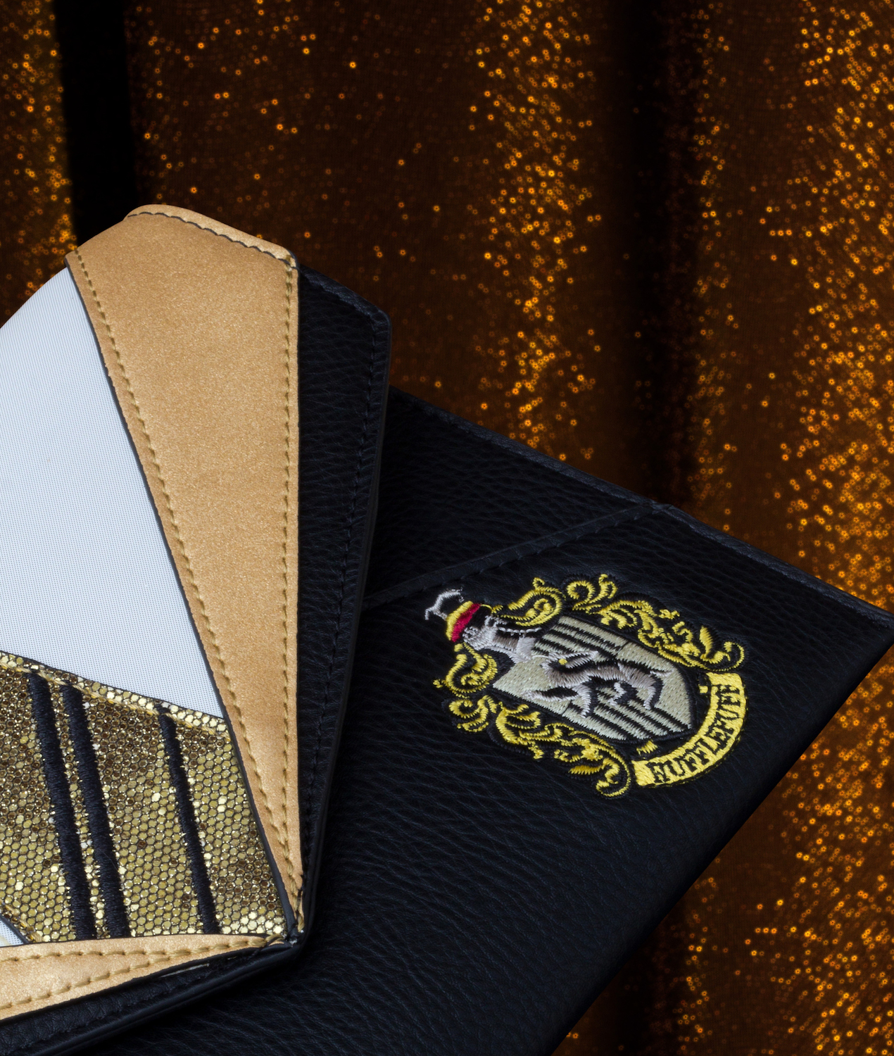 The Danielle Nicole Hufflepuff Uniform Clutch is for the patient and dedicated.