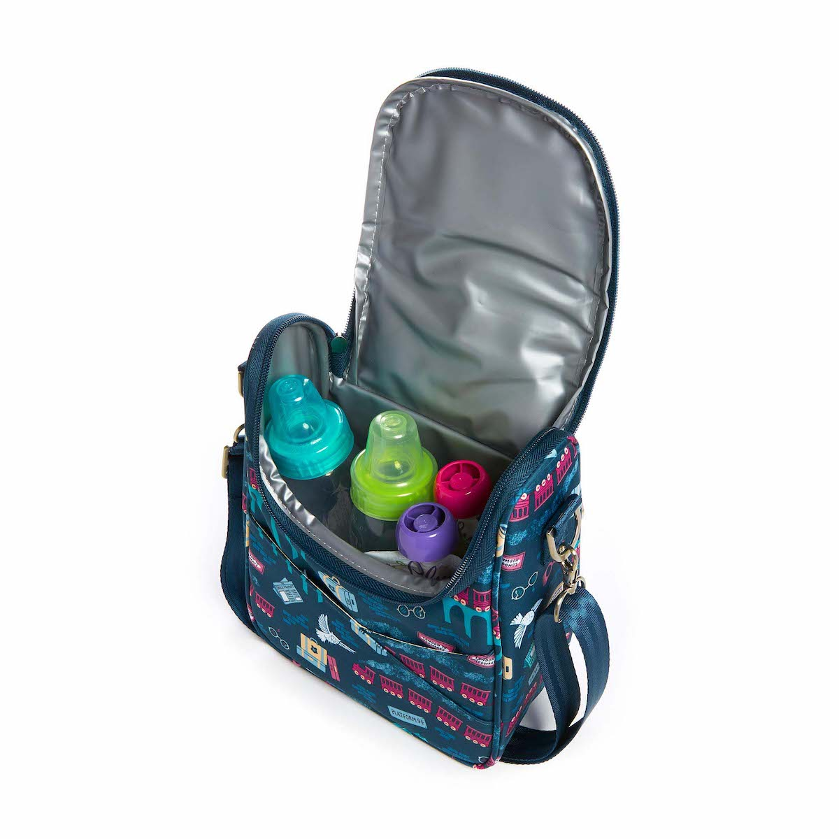 The Be Cool bag is perfect for keeping babies' bottles and lunches cool.