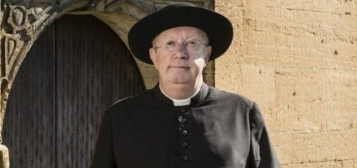 Mark Williams as his role of Father Brown